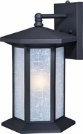 Vaxcel T0221 Halsted Textured Black Exterior Lighting Sconce