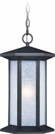 Vaxcel T0223 Halsted Textured Black Exterior Hanging Lamp