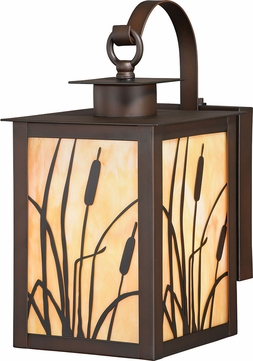 Vaxcel T0233 Bulrush Burnished Bronze Exterior Wall Sconce Lighting