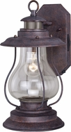 Vaxcel T0237 Dockside Traditional Weathered Patina Outdoor Wall Mounted Lamp
