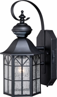 Vaxcel T0244 Tudor Dualux Traditional Dark Bronze Outdoor Motion Sensor w/ Photocell Wall Sconce