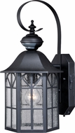 Vaxcel T0245 Tudor Dualux Traditional Dark Bronze Exterior Motion Detector w/ Photocell Wall Lamp