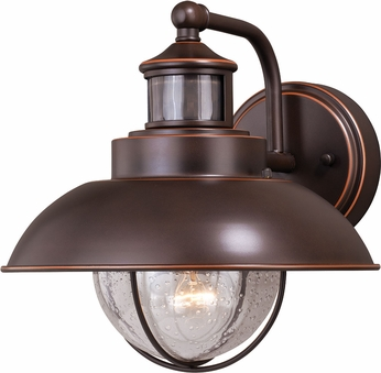 Vaxcel T0263 Harwich Dualux Burnished Bronze Exterior