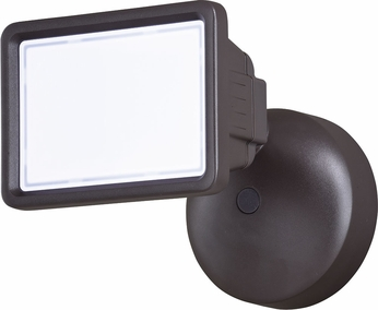 Vaxcel T0329 Sigma Contemporary Bronze LED Outdoor Home Security Lighting