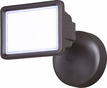 Vaxcel T0329 Sigma Modern Bronze LED Outdoor Home Security Lighting