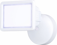Vaxcel T0330 Sigma Contemporary White LED Exterior Home Security Light