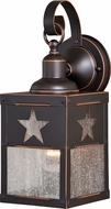 Vaxcel T0331 Ranger Vintage Burnished Bronze Outdoor Wall Sconce w/ Photocell