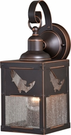 Vaxcel T0332 Missoula Retro Burnished Bronze Exterior Wall Lamp w/ Photocell
