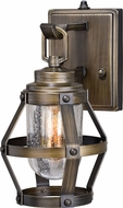 Vaxcel T0337 Bruges Vintage Parisian Bronze Outdoor Light Sconce w/ Photocell