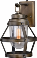 Vaxcel T0338 Bruges Retro Parisian Bronze Exterior Lighting Sconce w/ Photocell