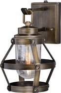 Vaxcel T0339 Bruges Vintage Parisian Bronze Outdoor Lamp Sconce w/ Photocell