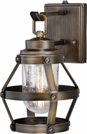 Vaxcel T0339 Bruges Contemporary Parisian Bronze Outdoor 9 Light Sconce