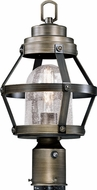 Vaxcel T0341 Bruges Contemporary Parisian Bronze Outdoor Post Lighting