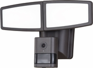 Vaxcel T0353 Epsilon II Contemporary Bronze LED Outdoor Motion Light