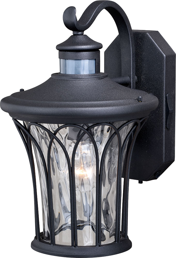 Vaxcel t0364 abigail textured black outdoor motion sensor wall light vaxcel t0364 abigail textured black outdoor motion sensor wall light sconce loading zoom aloadofball Image collections
