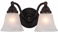 Vaxcel VL35122OBB Standford Oil Burnished Bronze 2-Light Bath Lighting