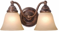 Vaxcel VL35122RBZ Standford Royal Bronze 2-Light Bathroom Light