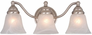 Vaxcel VL35123BN Standford Brushed Nickel 3-Light Vanity Lighting