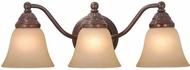 Vaxcel VL35123RBZ Standford Royal Bronze 3-Light Bath Light Fixture