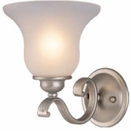 Vaxcel VL35401BN Monrovia Brushed Nickel Wall Lamp