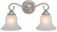 Vaxcel VL35472BN Monrovia Brushed Nickel 2-Light Bath Sconce