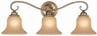 Vaxcel VL35473A-C Monrovia Antique Brass 3-Light Vanity Lighting Fixture