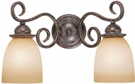 Vaxcel VL35922AZ-B Mont Blanc Aztec Bronze 2-Light Bathroom Sconce Lighting