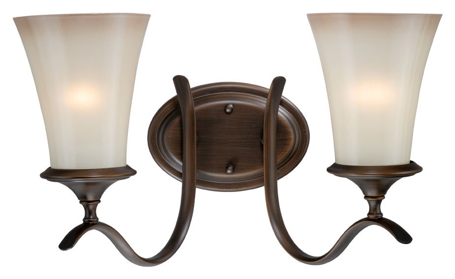 Vaxcel W0039 Sonora Venetian Bronze 10 Wide 2 Light