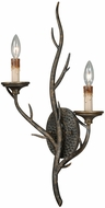 Vaxcel W0075 Monterey Country Autumn Patina Finish 13 Wide Wall Lighting Fixture