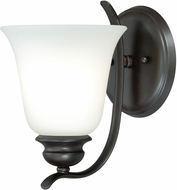 Vaxcel W0085 Darby Noble Bronze Wall Light Fixture