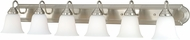 Vaxcel W0136 708 Series Satin Nickel 6-Light Bath Sconce