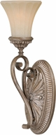 Vaxcel W0154 Avenant Traditional French Bronze Lighting Sconce