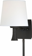 Vaxcel W0180 Chapeau New Bronze Wall Sconce