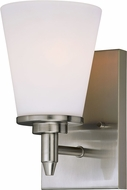 Vaxcel W0212 Eastland Satin Nickel Wall Sconce Lighting