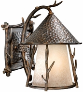 Vaxcel WD-OWD090AA Woodland Country Autumn Patina Finish 11.5  Wide Outdoor Lamp Sconce