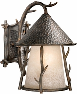 Vaxcel WD-OWD110AA Woodland Rustic Autumn Patina Finish 15.5  Tall Exterior Wall Sconce Lighting