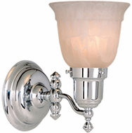Vaxcel WL28961CH Swing Arm Chrome Finish 8 Wide Wall Light Fixture