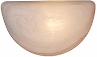 Vaxcel WS29987W Saturn White Lamp Sconce