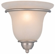Vaxcel WS35461BN Monrovia Traditional Brushed Nickel Finish 5 Wide Wall Lighting Sconce