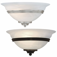 Vaxcel WS8171 Da Vinci 6.25  Wide Wall Lighting Sconce