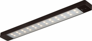 Vaxcel X0003 Instalux Contemporary Bronze LED 24  Motion Sensor Under Cabinet Light