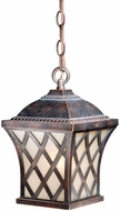 Vaxcel YS-ODD070CF Yorkshire Traditional Coffee Patina Finish 11.625 Tall Outdoor Mini Ceiling Light Pendant