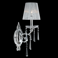 Worldwide W23131C6 Orleans Polished Chrome Finish 9 Wide Wall Light Fixture