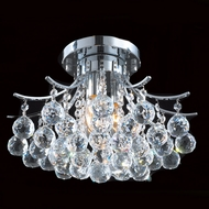 Worldwide W33015C16 Empire Polished Chrome Ceiling Lighting