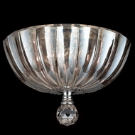 Worldwide W33141C10-CL Mansfield Polished Chrome Ceiling Lighting Fixture