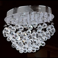 Worldwide W33232C20 Icicle Polished Chrome Halogen Multi Hanging Pendant Light