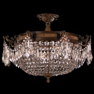 Worldwide W33354B24-CL Winchester Antique Bronze Ceiling Lighting Fixture
