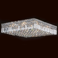 Worldwide W33519C20 Cascade Polished Chrome 20  Ceiling Light Fixture