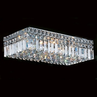 Worldwide W33529C20 Cascade Polished Chrome 20  Overhead Lighting