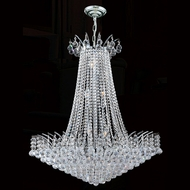 Worldwide W83053C29 Empire Polished Chrome Clear 29  Lighting Pendant